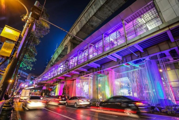 RATCHAPRASONG LIGHTING AND COUNTDOWN FESTIVAL 2019