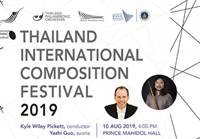 THAILAND INTERNATIONAL COMPOSITION FESTIVAL 2019